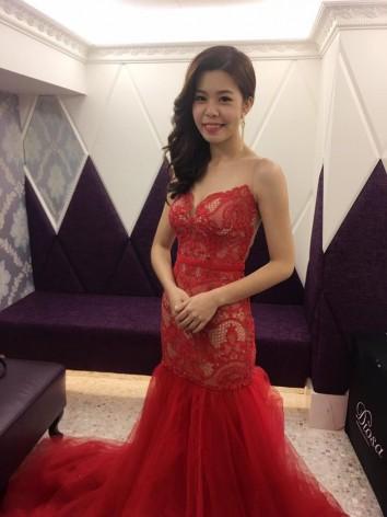 婚紗,自助婚紗,台北婚紗,禮服,紅色禮服
