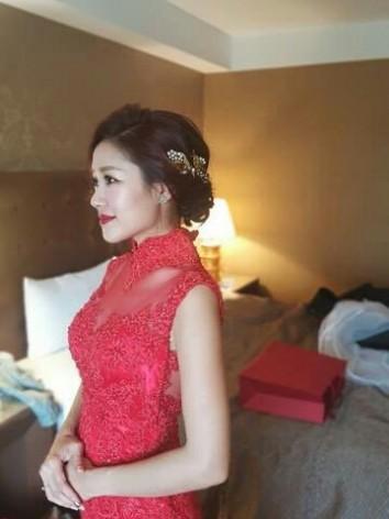 禮服,紅色禮服,中國風,婚紗,台北婚紗