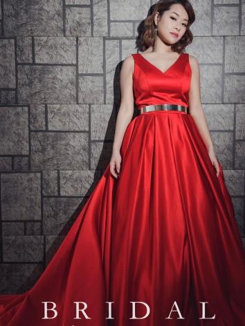 紅色禮服,婚紗,自助婚紗,婚紗攝影,禮服