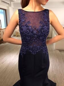 婚紗,禮服,婚紗照,時尚,寶藍色
