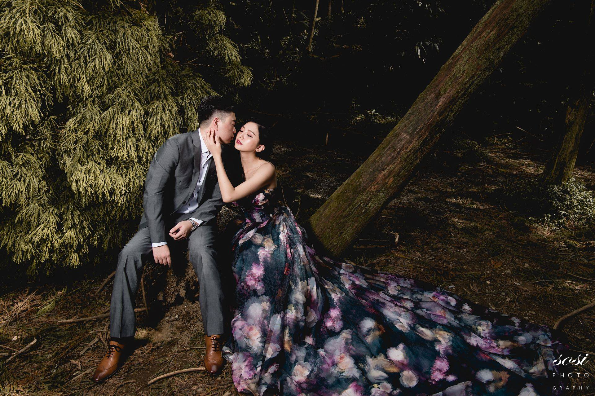 藍色禮服,禮服,婚紗,台北婚紗,婚紗照