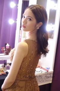 禮服,金色禮服,婚紗,台北婚紗,自助婚紗